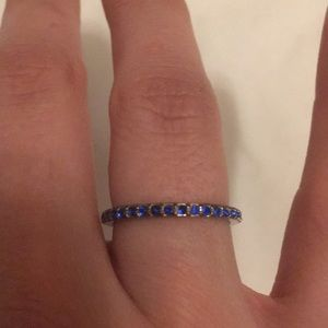 Blue stone ring from Nordstrom